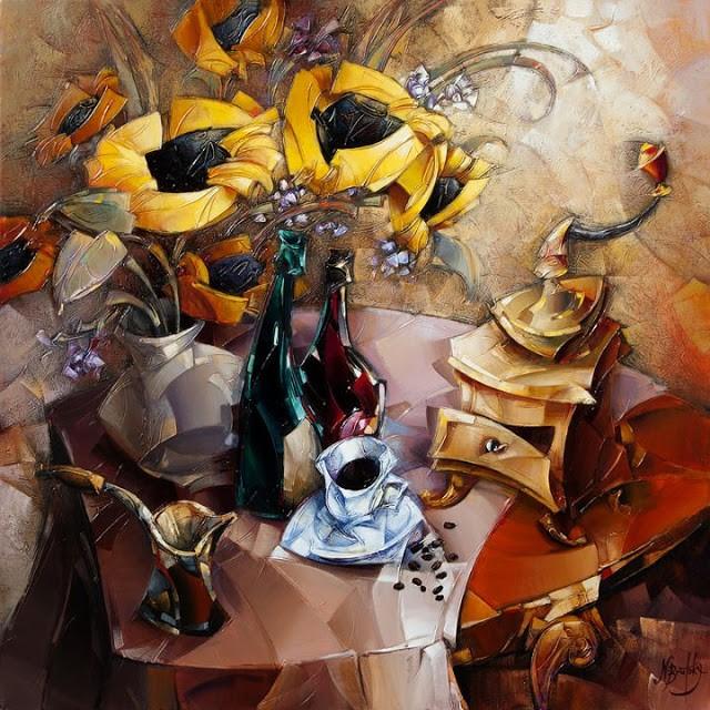 Израильский художник. Nathan Brutsky 15
