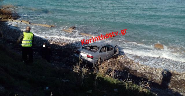 Βουτιά θανάτου στη θάλασσα για 35χρονη οδηγό στο Ξυλόκαστρο Κορινθίας