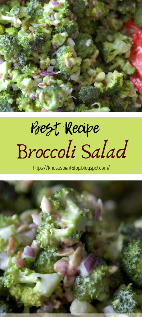 Broccoli Salad #vegan #recipevegetarian
