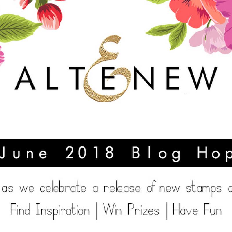 Altenew June 2018 StampDie Release Blog