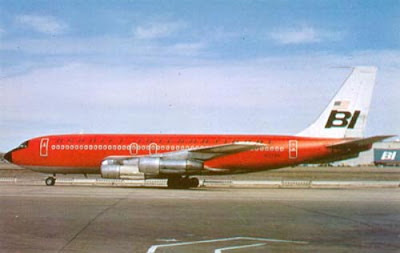 Foto Pesawat Braniff Airways
