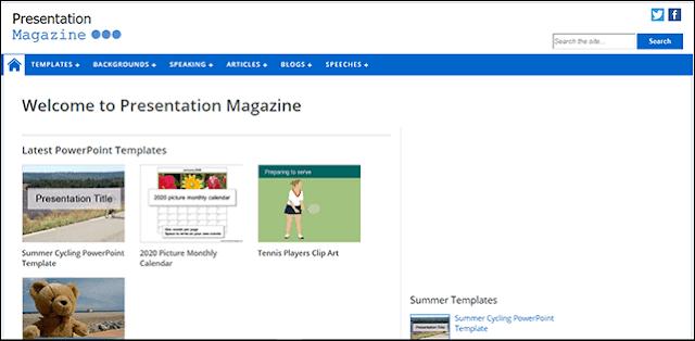 Presentation Magazine