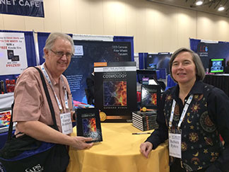 Palmia Observatory Resident Astronomer gets signed copy of Barbara Ryden's Introduction to Cosmology