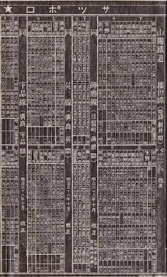 明治38年時刻表 山陽鉄道 播但線、飾磨線、呉線、宇品線