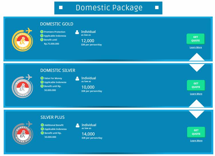 domestic package - Ingin Perjalanan Liburan Kamu Aman dan Nyaman? Yuk Asuransikan di Travellin.co.id!