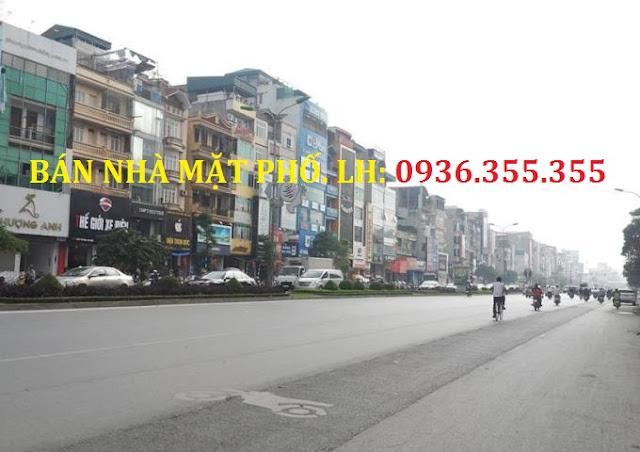 Bán nhà mặt phố Xã Đàn, Nam Đồng