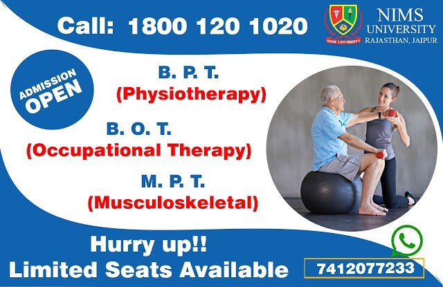 BPT, BOT, MPT - Best College in India, Admission, Career