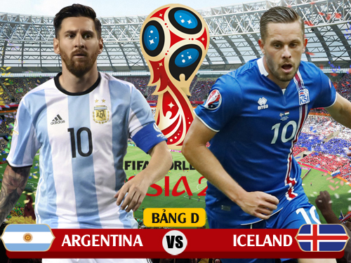 Giờ vàng, xem trực tiếp Argentina vs Iceland ở đâu?