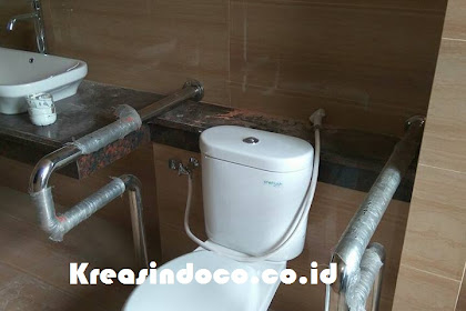Pesanan Handrail Stainless BSD Tangerang Selatan Bpk Surya