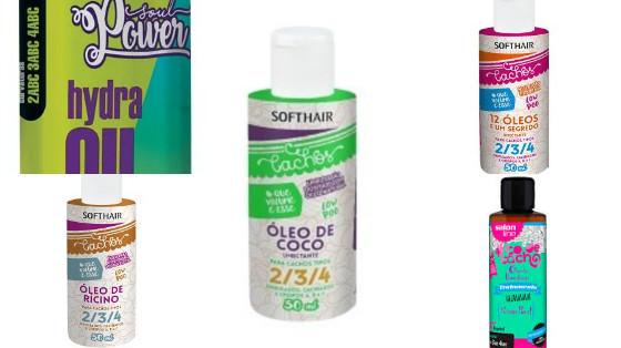 oleos e seruns liberados para low poo