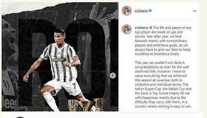 instagram of c ronaldo