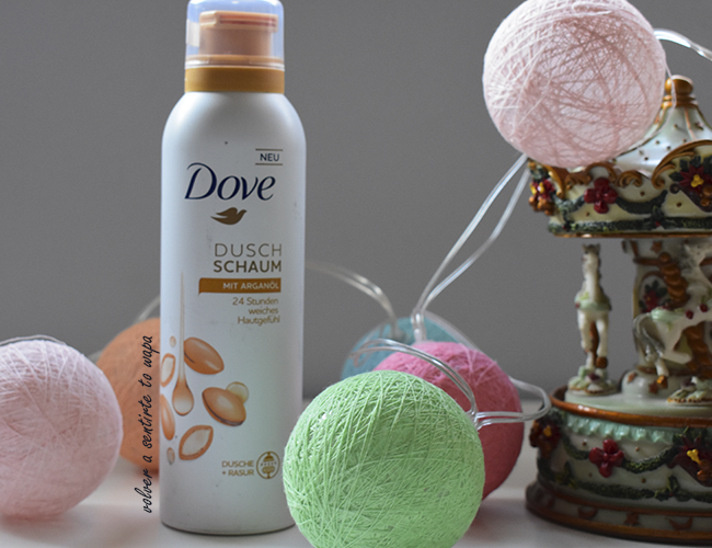 Espuma de Ducha de Dove - Argan Oil