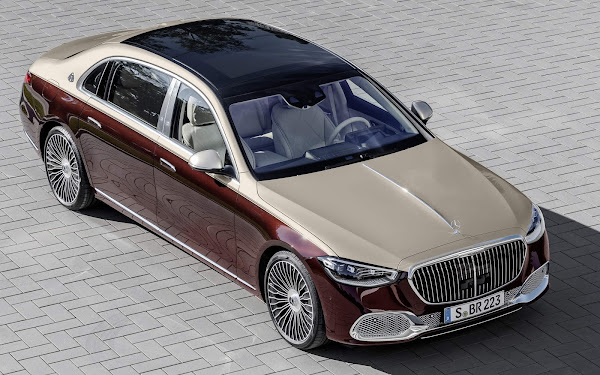 Mercedes-Maybach S-580 2021