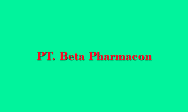 PT. Beta Pharmacon