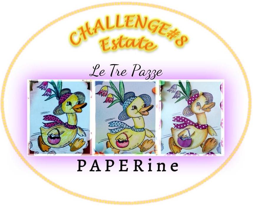 grab button for Le Tre Pazze PAPERine