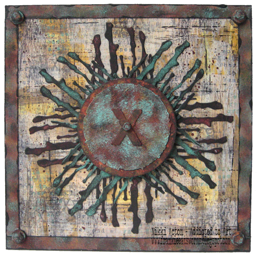 Seth Apter PaperArtsy New Release Wood Chips Nikki Acton