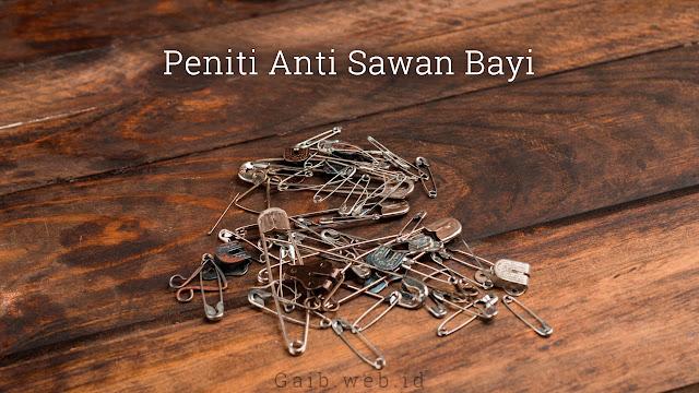 Peniti Anti Sawan Bayi
