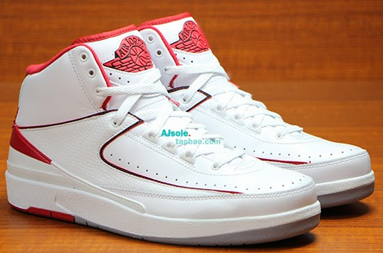 outlet store fe5bc dc086 ajordanxi Your  1 Source For Sneaker Release Dates  Air Jordan 2 Retro White Gym  Red-Black June 2014