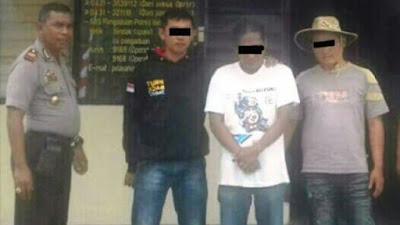 SE Pelaku Penganiaya Diciduk Kepolisian Minahasa