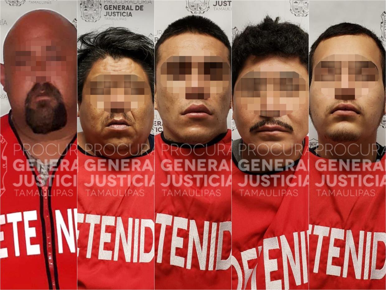 """Caen """"El Shaggy"""","""" Pipas"""", """"El bebé"""", """"Guacho"""" y el Pol. Ministerial """"El Gordo"""" en Tamaulipas"""