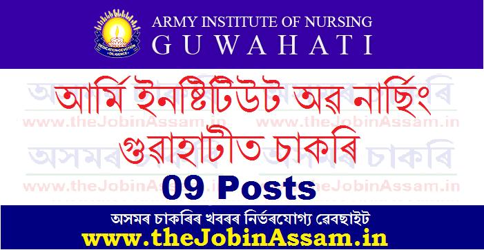 Army Institute of Nursing, Guwahati Recruitment