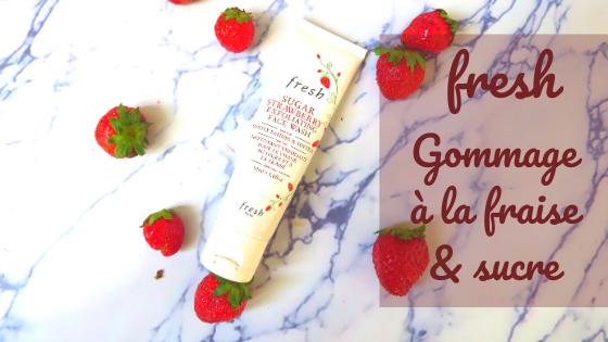 Sugar Strawberry Exfoliating Face Wash - Fresh