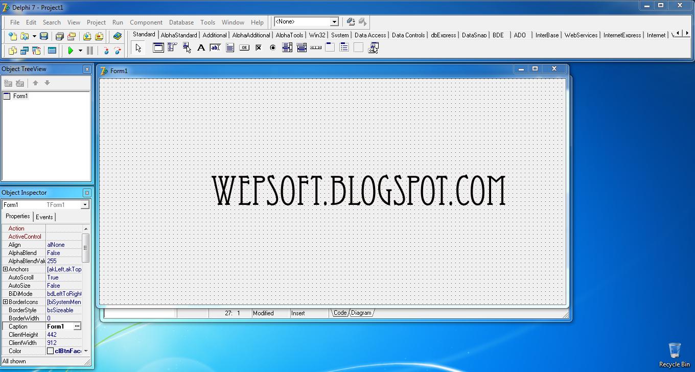 Delphi 7 Enterprise Edition | Wepsoft