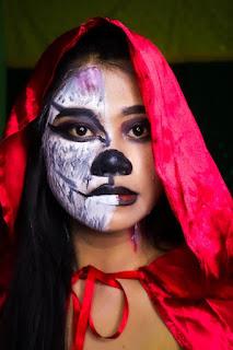 Makeup art ameliasepta tema werewolf