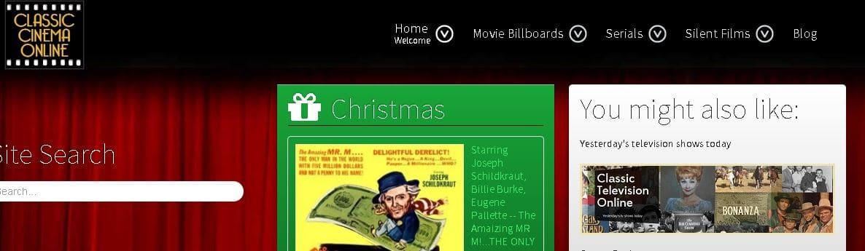14- موقع Classic Cinema Online