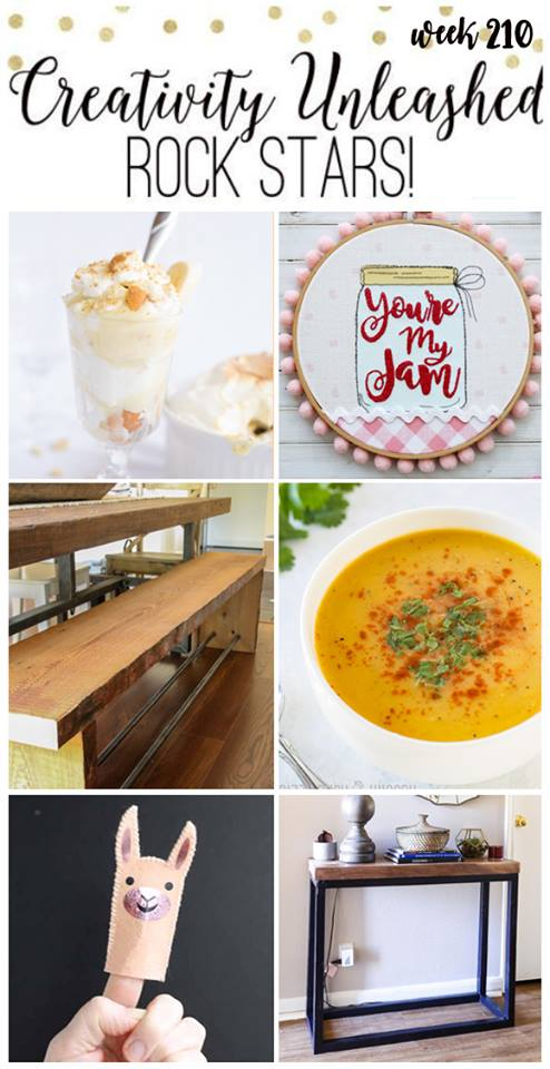 Butternut Squash Soup Feature and Creativity Unleashed Link Party #211