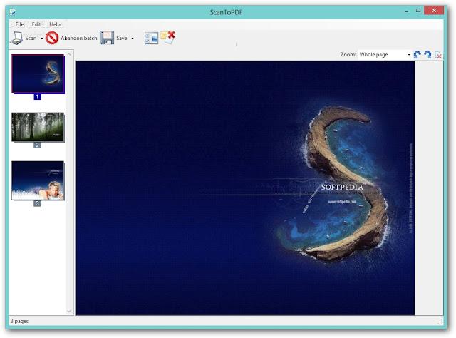تنزيل برنامج تحويل الصور ل PDF للكمبيوتر Scan to PDF