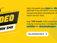 Sayembara 1000 Video Pembelajaran SMK