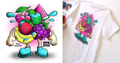 Now and Later Candy T-Shirt by Buff Monster