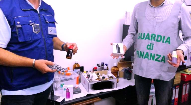 sigaretta elettronica contrabbando liquidi