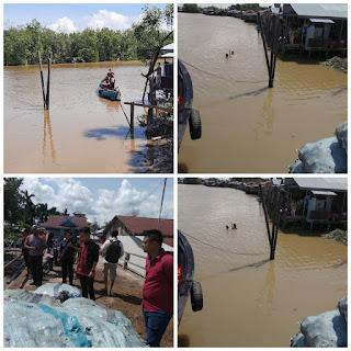 Terpeleset, ABK Kapal di Sungai Lokan Hilang Tenggelam