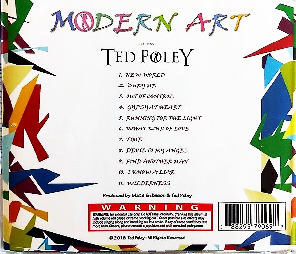 TED POLEY - Modern Art (2018) back