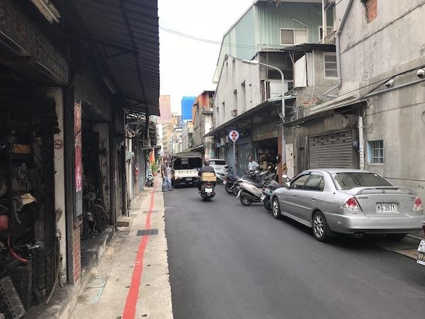 注目のストリートだ、という赤峰街というエリア