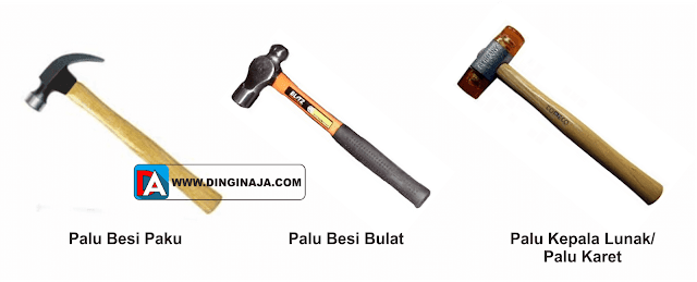 jenis peralatan tangan bengkel