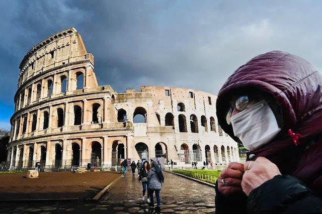 إيطاليا تعلن عن تسجيل 72 حالة وفاة مع تسجيل 165 ألف حالة شفاء و270 إصابة مؤكدة بفيروس كورونا✍️👇👇👇