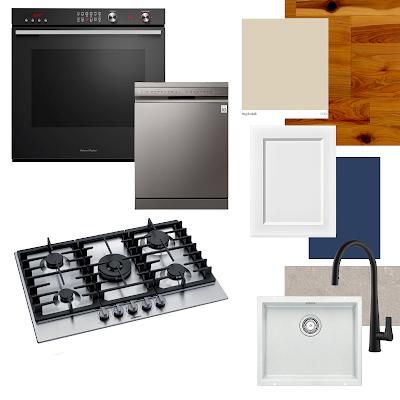 Kitchen Renovation Plans - Hamptons Style Shaker Door Moodboard