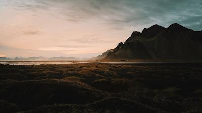 Wallpaper Dawn, Mountains, Lake, Landscape, HD