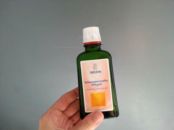 huile anti-vergetures de weleda