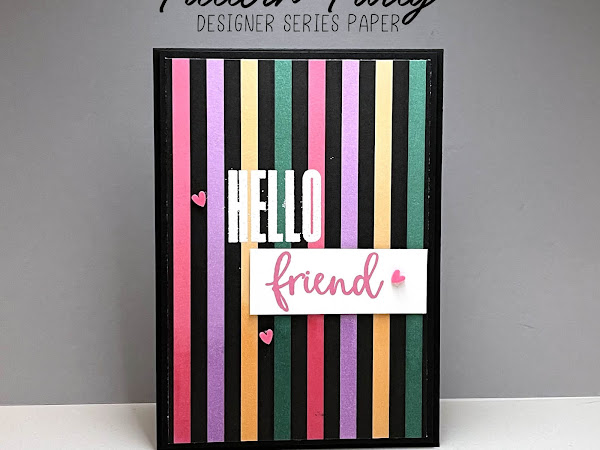 Pretty Cards and Paper International Blog Hop May 2021 | Pattern Party Host Designer Series Paper