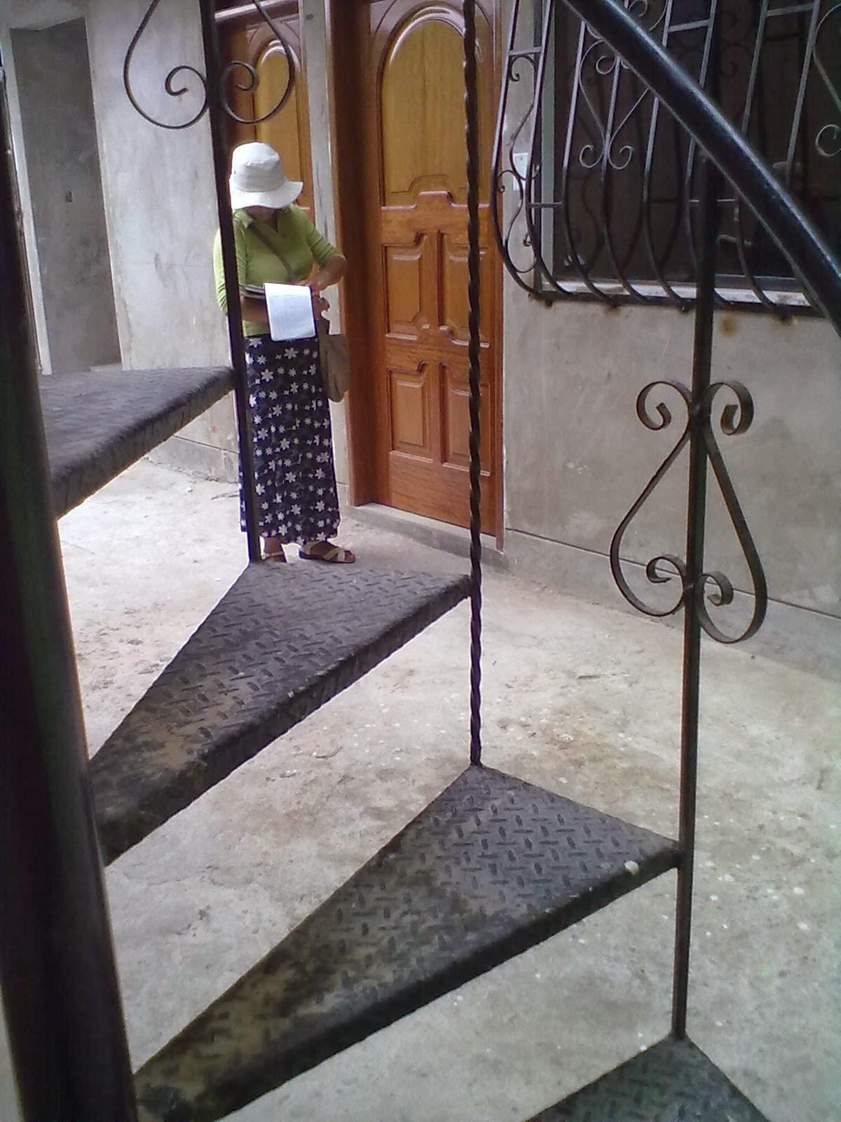 Carpinteria metalica escaleras Como hacer una escalera caracol