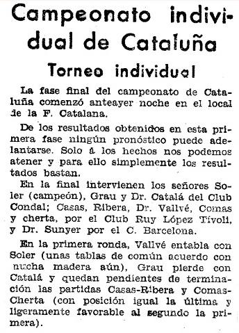 Recorte de El Mundo Deportivo, 16/7/1933
