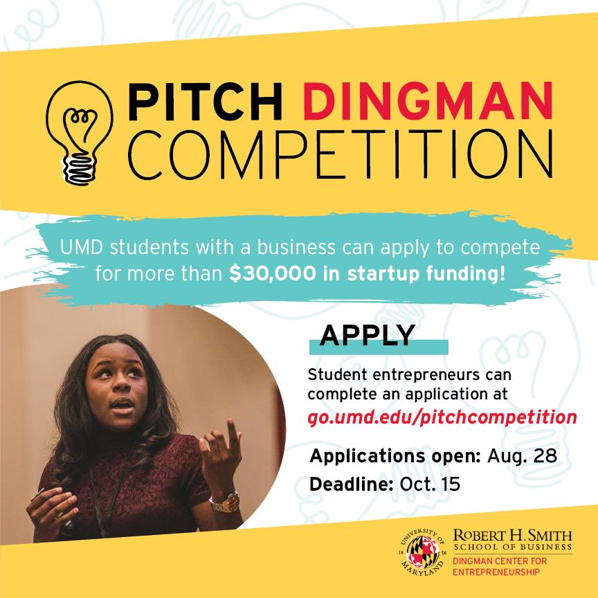 BSOS Undergraduates Blog: Pitch Dingman Competition