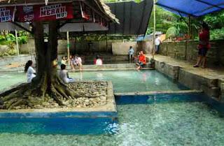 Lokasi Tempat Wisata Air Panas Hatuasa