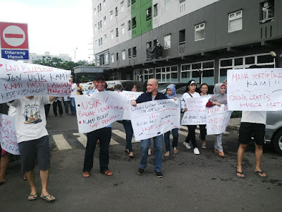 Apartemen Green Pramuka Demo Warga