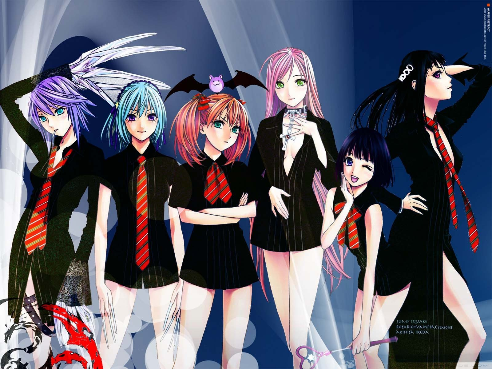 Anime De Rosario Vampire nerdilista neda: anime review sunday: rosario + vampire