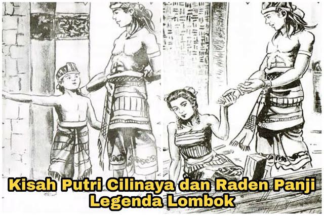 Kisah Putri Cilinaya dan Raden Panji - Legenda Lombok